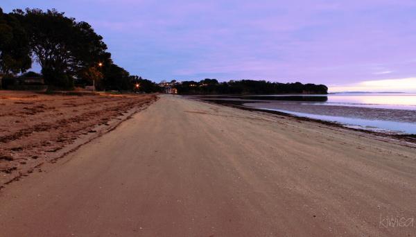 Pristine sand