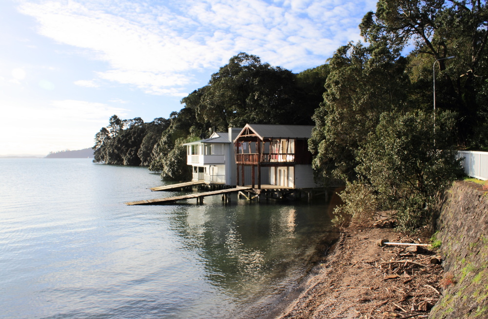Boathouse at Cox Bay