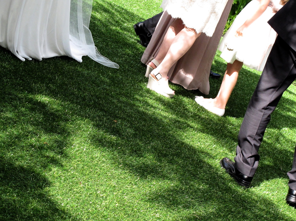 Wedding feet
