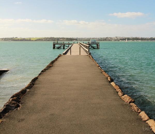 Torpedo Bay wharf
