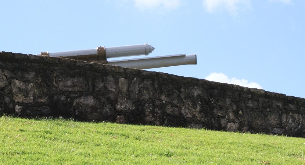 North Head guns