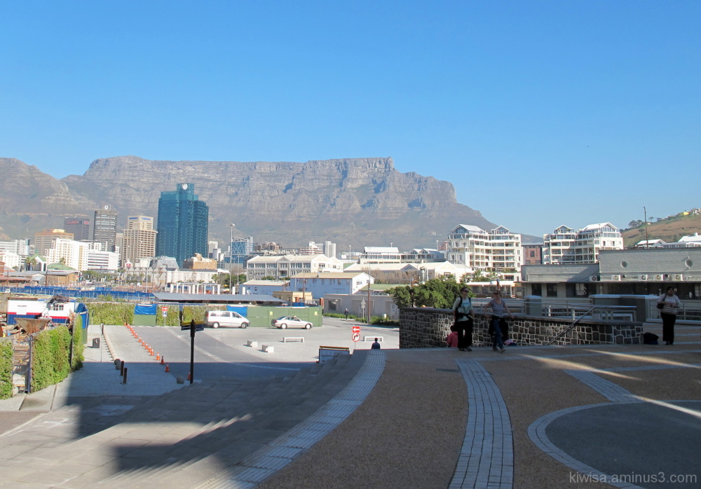 Waterfront view of Table Mountain