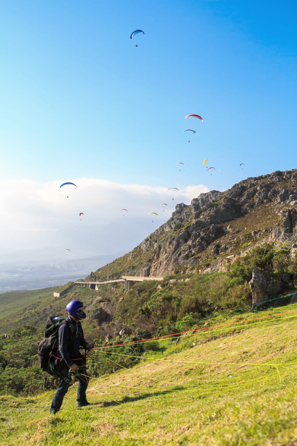 #2 Paragliding on Sir Lowry's Pass