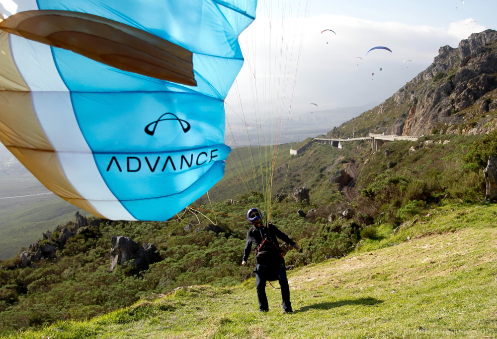 #3 Paragliding on Sir Lowry's Pass