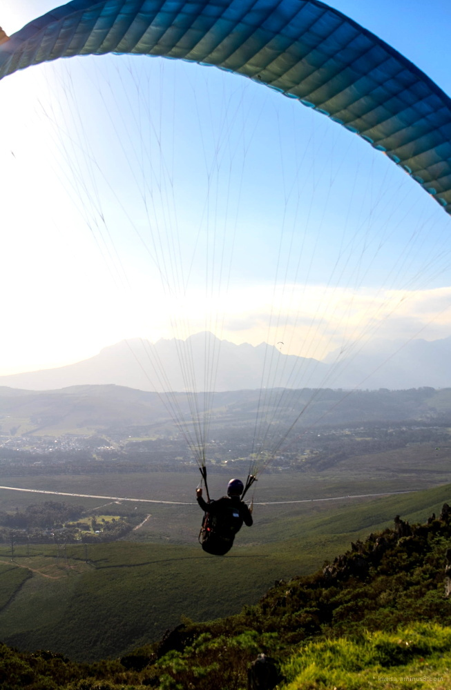 #4 Paragliding on Sir Lowry's Pass