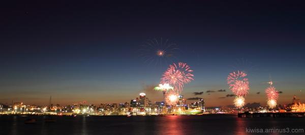 #2 Auckland Anniversary fireworks