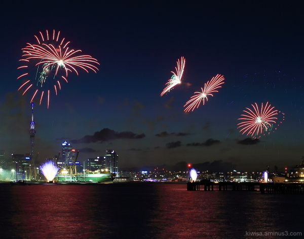 #3 Auckland Anniversary fireworks