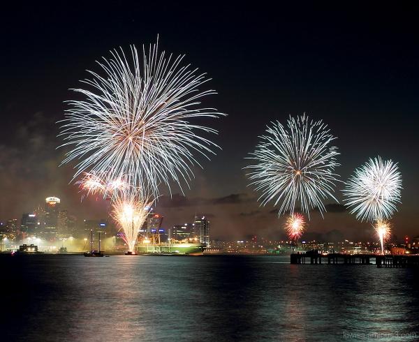 #5 Auckland Anniversary fireworks