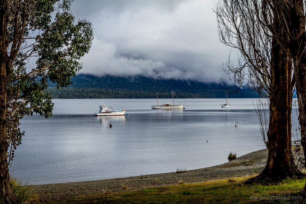 Morning on Lake Te Anau
