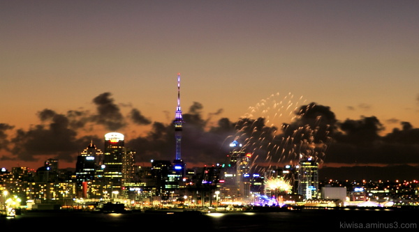 Auckland anniversary: Ports of Auckland fireworks