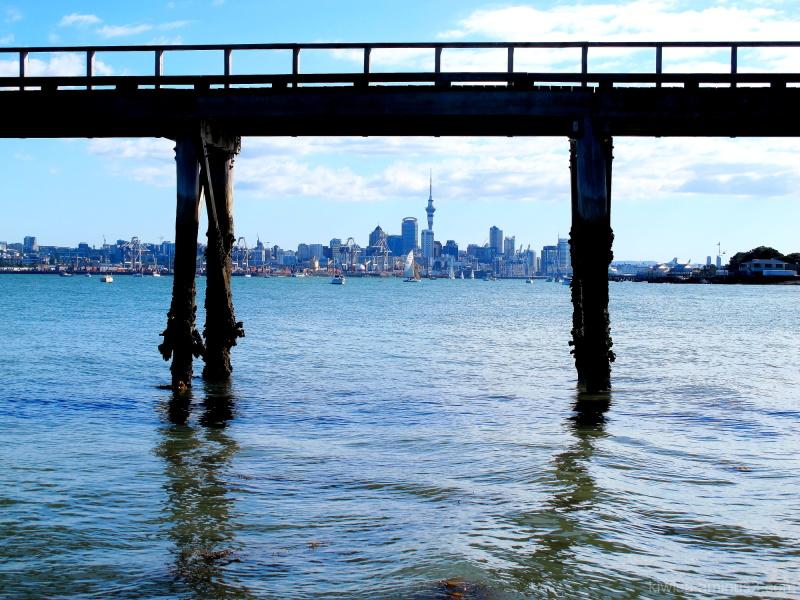 Wharf framing Auckland