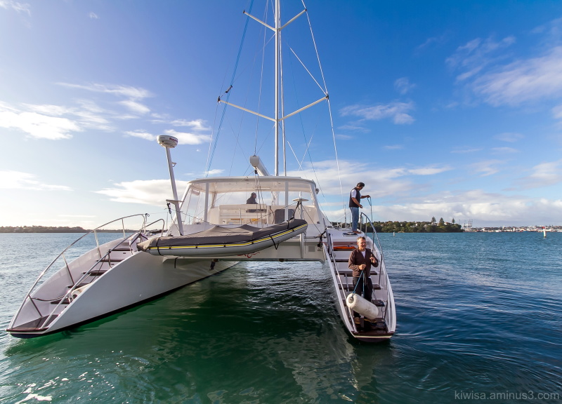 #12 Catamaran photo essay