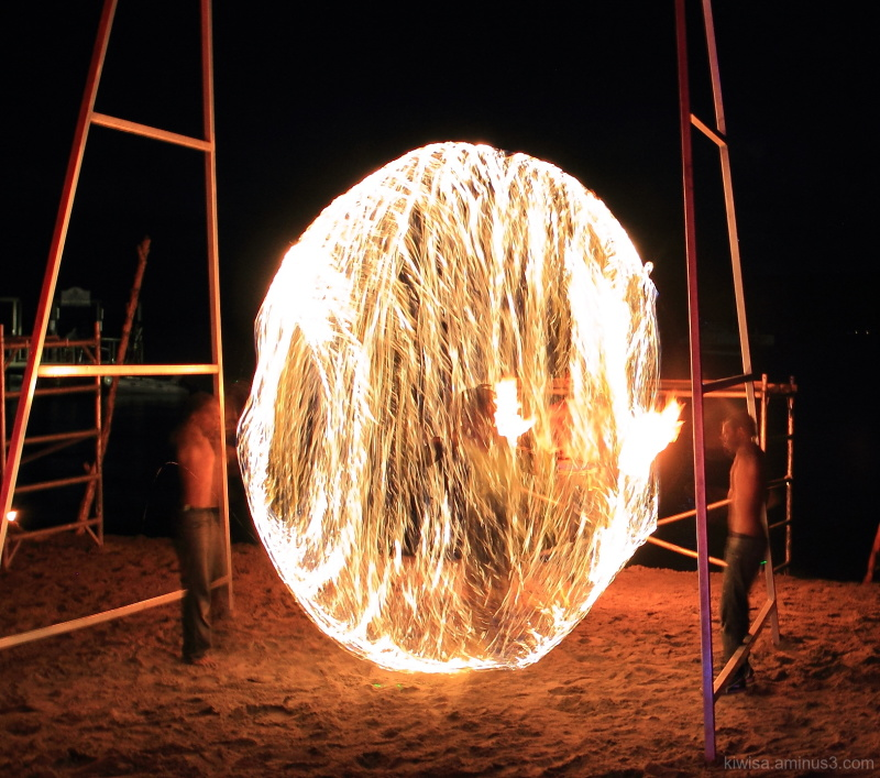 Fire show - Vanuatu