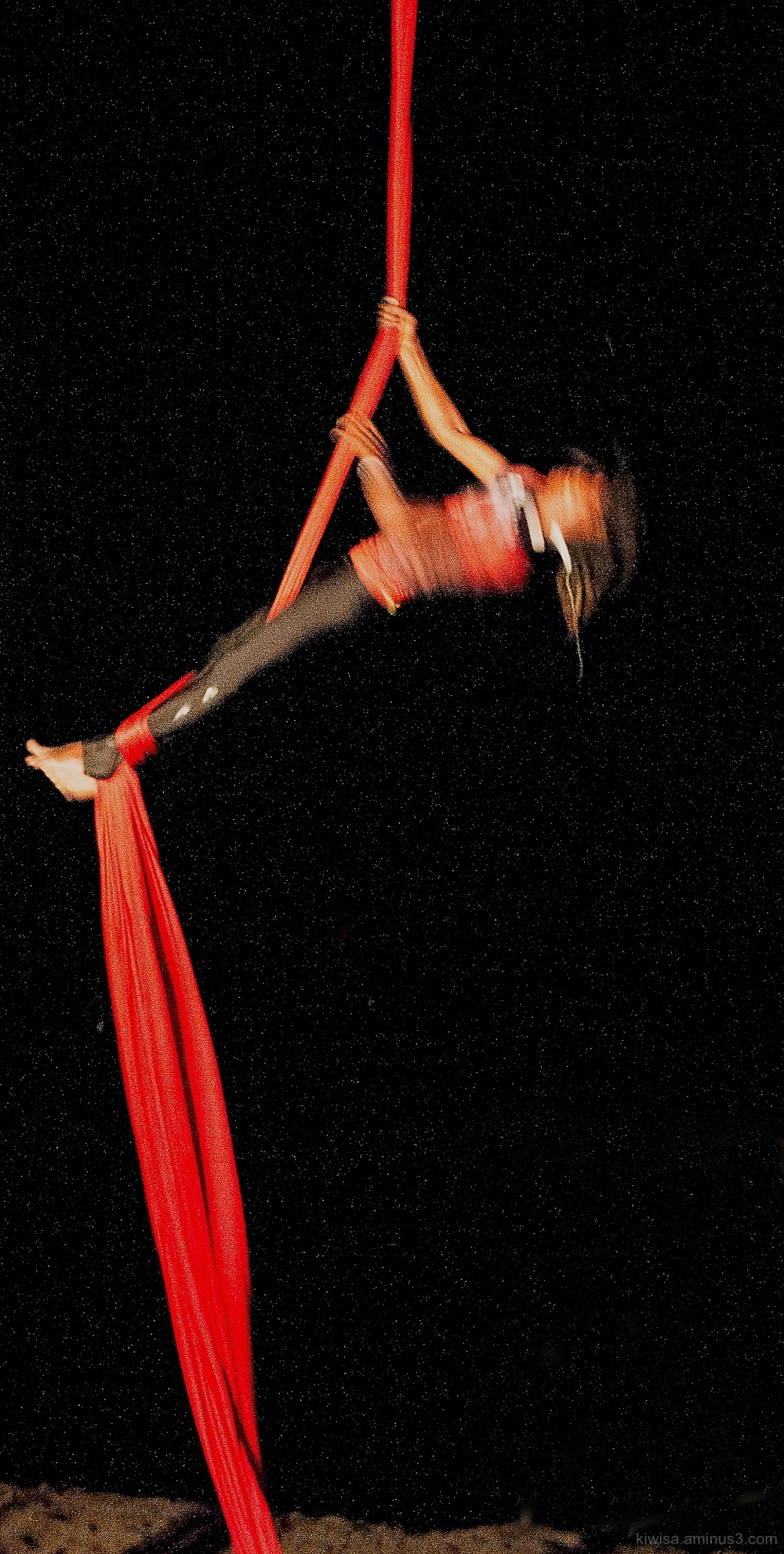 Twirling Acrobat