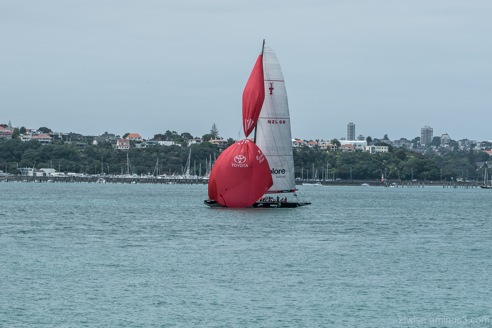 Twisted spinnaker