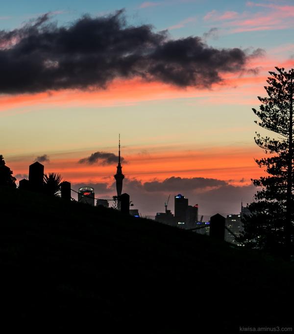 Auckland sky