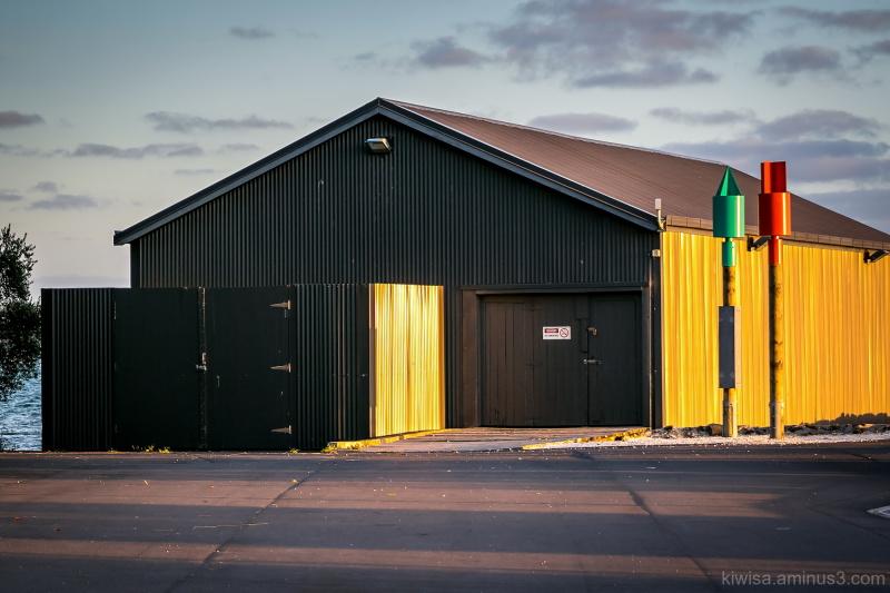 Boat shed, Torpedo Bay