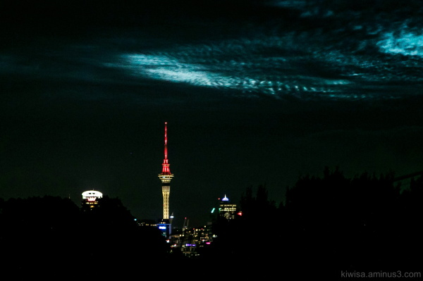Auckland nightsky