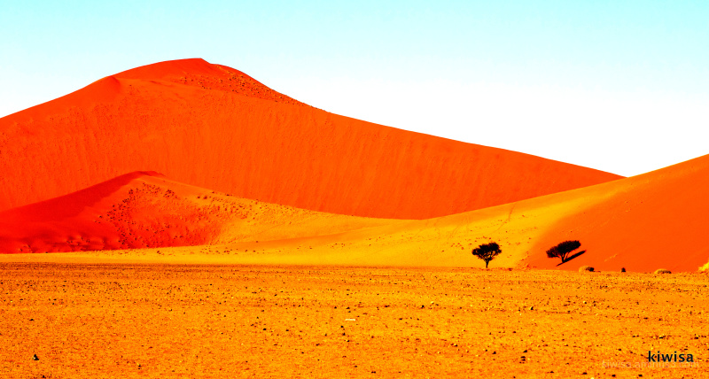 Sossusvlei in high colour