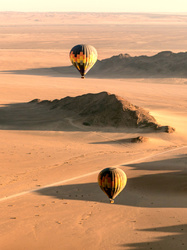 #3 Hot air balloon ride