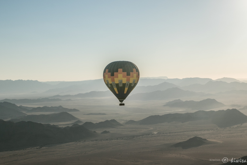 #4 Hot air balloon ride