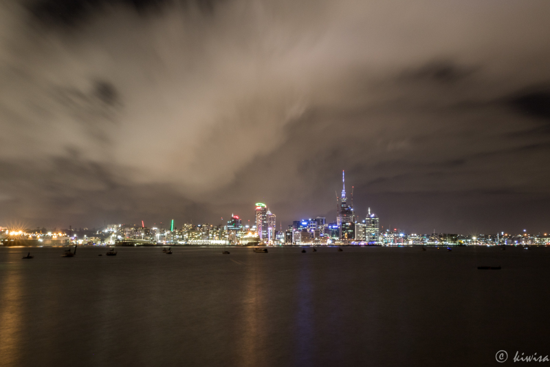 Auckland night sky