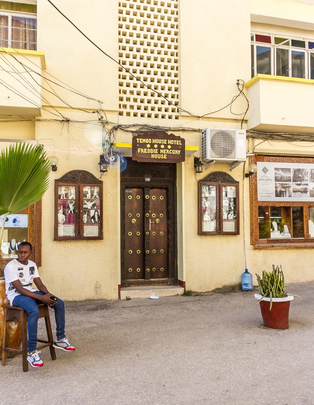 #4 Zanzibar -Freddy Mercury House