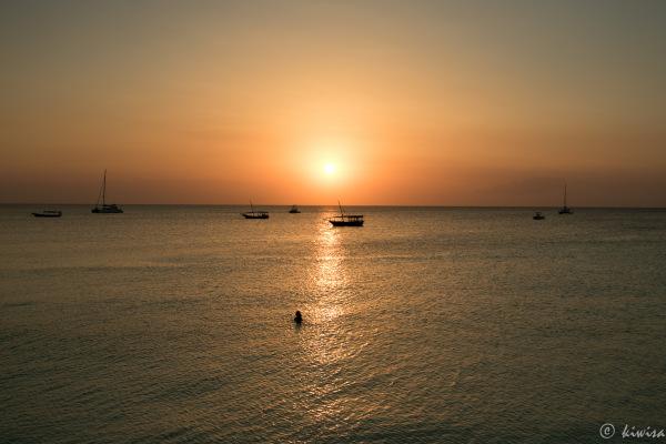 #20  Zanzibar- Nungwi Beach sunset
