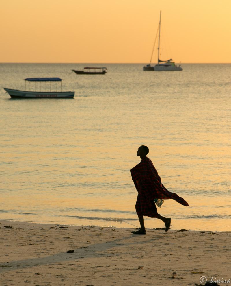 #22 Zanzibar  Silhouette against the sunset