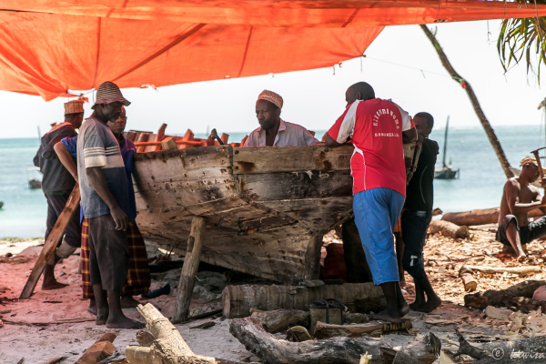#27 Zanzibar- boat builders