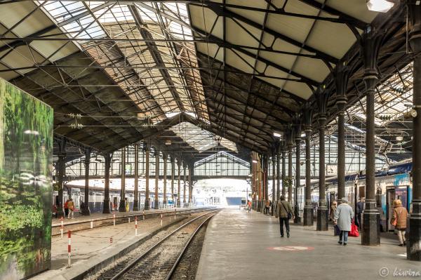 Gare Saint-Lazarre, Paris