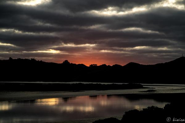 Hokianga sunrise- Rawene