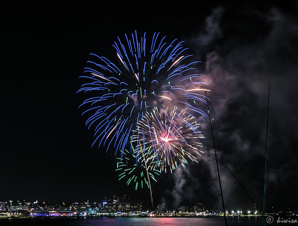 Auckland Anniversary 2021 Fireworks