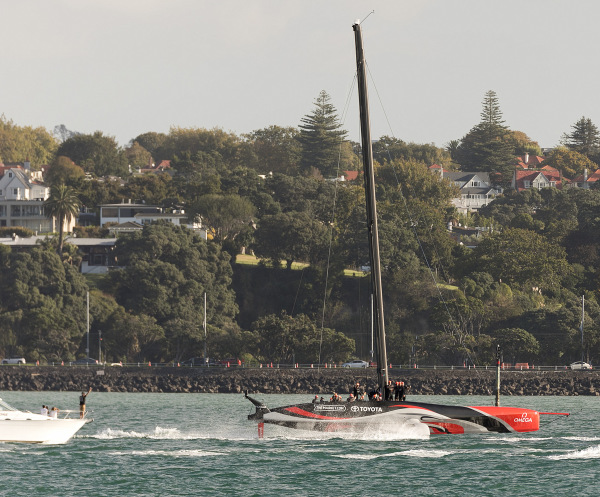 NZ wins the America's Cup