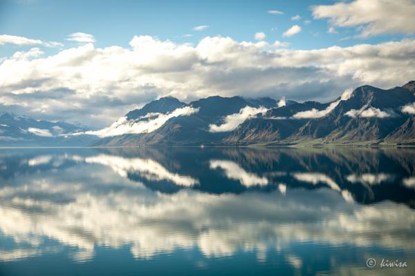 #57 SI Road trip- Lake Hawea reflections