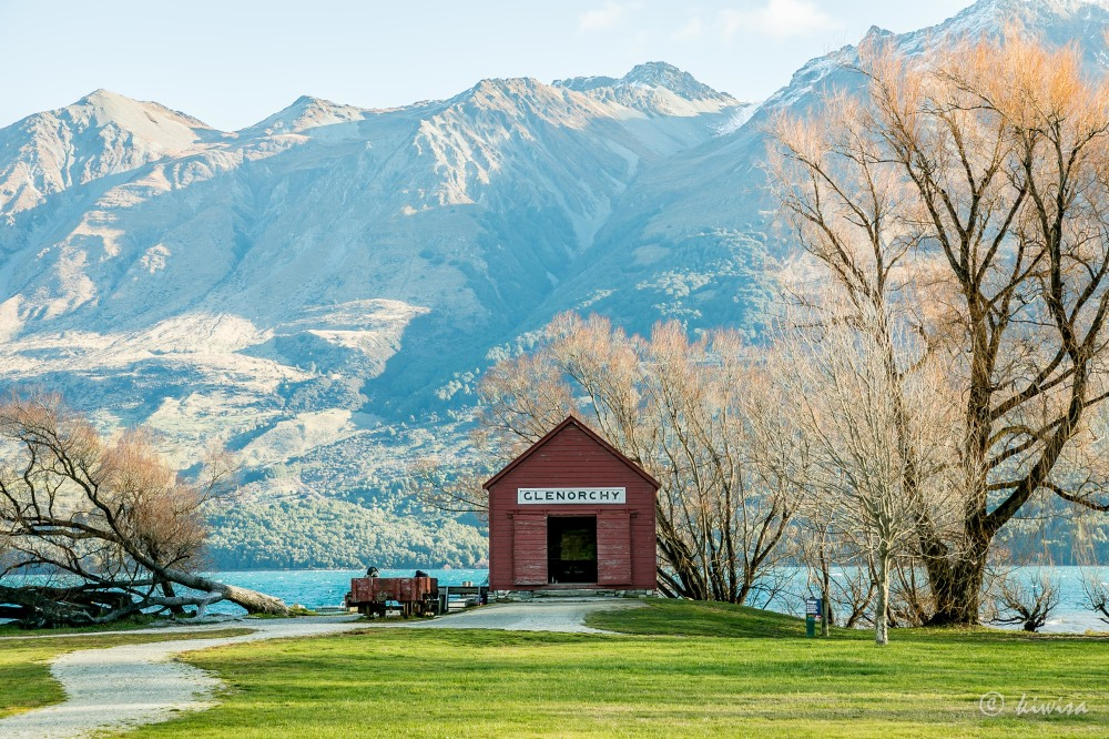 #78 SI Road trip- Glenorchy Railway shed
