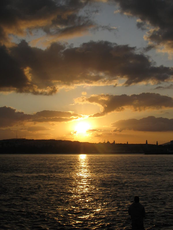 sunrise in Istanbul2