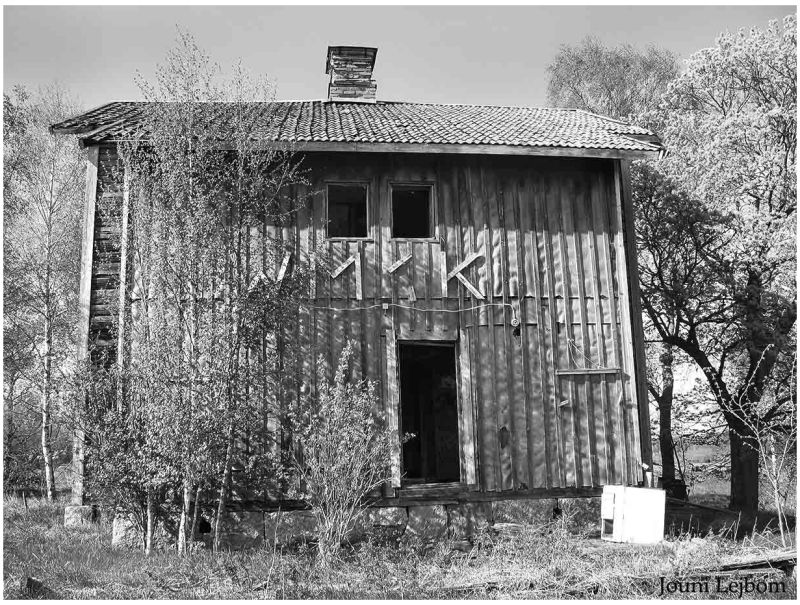 Old wooden building - Skerike