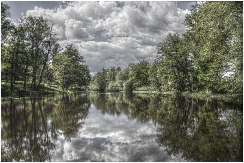 hdri Svartån river