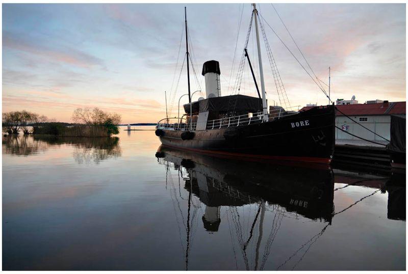 Västerås harbour - Bore