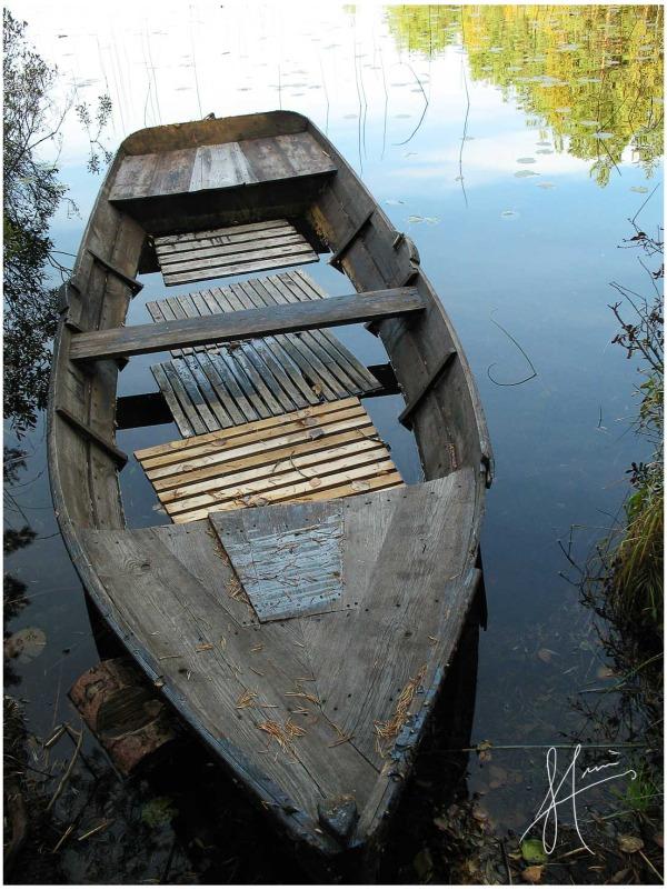 Boat at Kolarbyn
