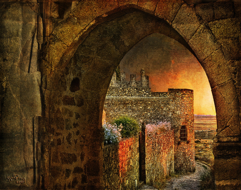 Trujillo sunset Spain