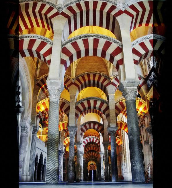 La Mezquita de Córdoba. Spain.
