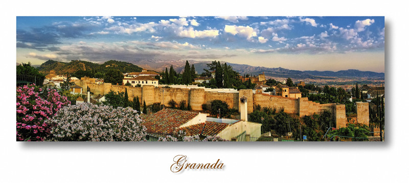the old wall, Granada. Spain