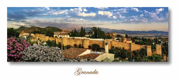 the old wall, Granada. Spain