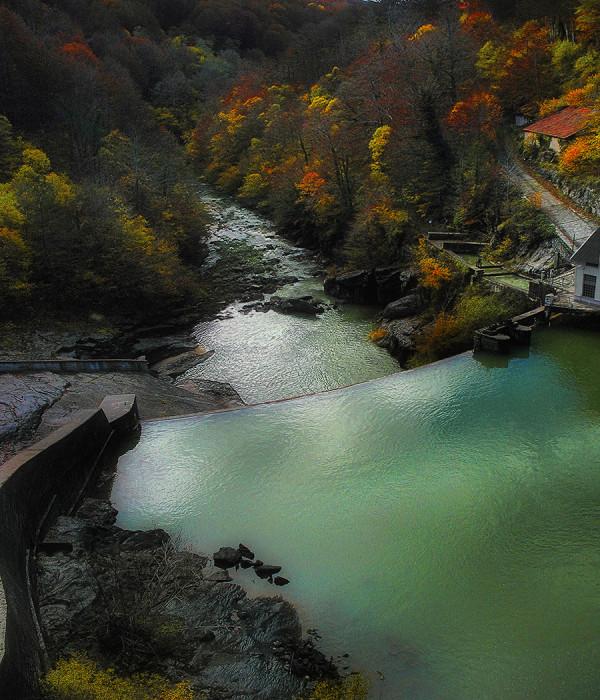 Irabia reservoir. Irati -Navarra