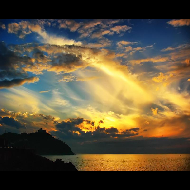 sunset San Sebastian donostia
