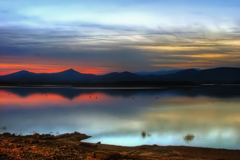 Gabriel y Galan reservoir