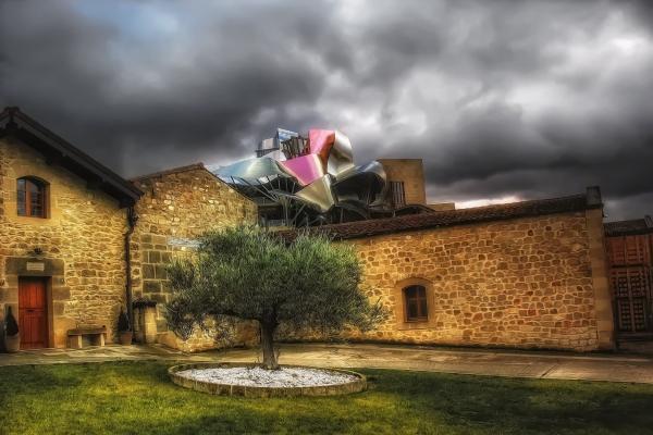 Marqués de Riscal, Elciego, La Rioja, Spain.