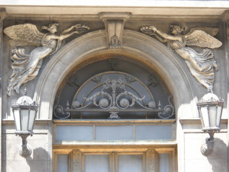 door with Angels